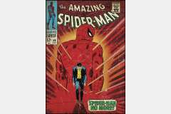 vinilo decorativo reutilizable portada spider man