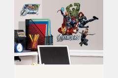 vinilo decorativo reutilizable avengers1